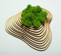 Tabloiu cu licheni - Creative Nest
