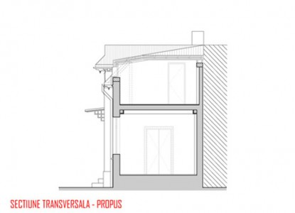Remodelare mansarda locuinta existenta - str Ioan Bianu 10.8  Bucuresti AsiCarhitectura