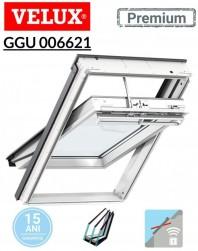 Fereastra de mansarda inteligenta electrica poliuretan Velux GGU 006621-Kripton