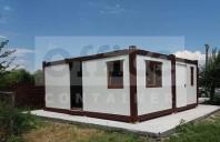 Casa din trei containere - 6 x 3 m