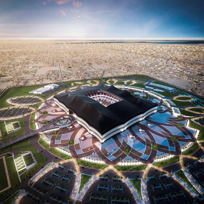<b>Stadionul Al Bayt, Qatar</b>