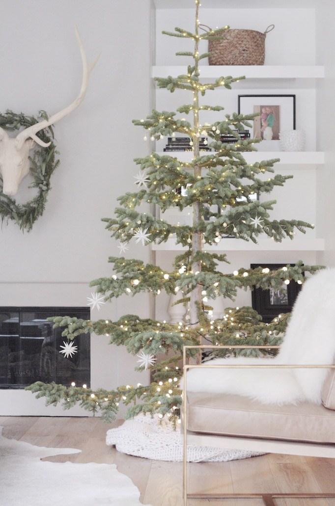 10 idei de decorare a casei pentru un Crăciun în stil minimalist