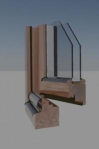 Fereastra din lemn - TIPUL STANDARD