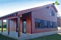 Casa din lemn - Coruna