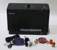 Generator de aburi pentru bai de aburi / hammam / saune umede cu functie anticalcar - Waincris Torro