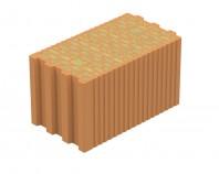 Bloc ceramic cu nut si feder cu izolatie din vata bazaltica integrata - EVOCERAMIC 24 VB