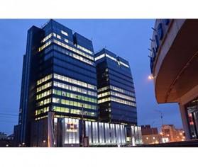 Prelucrare sticla complex de birouri Centrul de Afaceri Sibiu