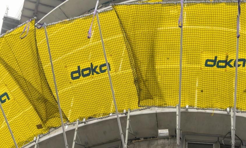 De ce să alegeți plasele de protecție Doka pentru șantierul dvs.?