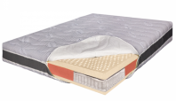 Saltea pat ortopedica - arcuri Pocket, 100% Latex