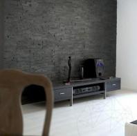 Panel Ardezie Rusty Black 15 x 60cm (placari interioare) - PND-128