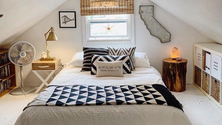 Cum să muți dormitorul în mansardă?