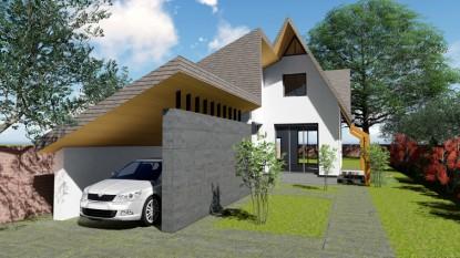 Locuinta P+M - 3 camere + garaj - Curcani  Curcani AsiCarhitectura