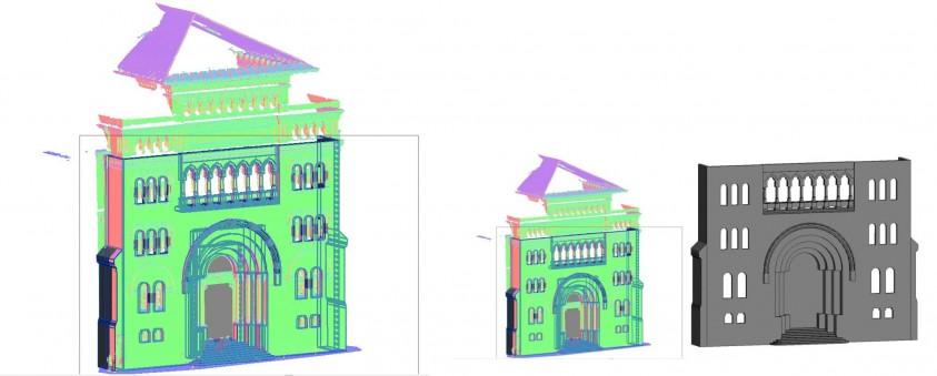Modelare 3D - Nor de puncte - Universitatea de Arhitectura Ion Mincu - proiect realizat de