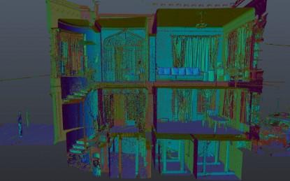 Proiect Graphein - scanare 3D - Casa Breslelor  Bucuresti GRAPHEIN Graphein