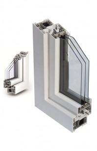 Sistemul TROCAL 88 MD pentru ferestre cu deschidere spre interior