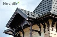 Țigla metalică Novatik METAL | CLASSIC - un acoperiș solid și eficient recomandat și în condiții