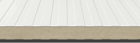 Panou metalic autoportant din poliuretan cu imbinare labirint - FRIGO DL