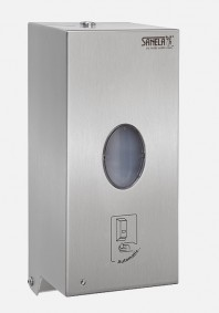 Dozator de sapun lichid si dezinfectant din otel inox automat - SANELA SLZN 71E