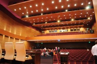 Tratamente acustice rezistente la foc pentru plafoane si compartimentari din cadrul Auditorium Pallady, Bucuresti