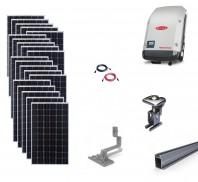 Sistem fotovoltaic on-grid Fronius 6kwp prindere tigla
