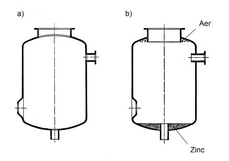 Fig 4 a) Flanșele și tuburile interioare trebuie să fie la același nivel cu conturul interior