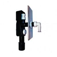 Sifon pentru masina de spalat DN40 50 cu aerator HL902 - 110 x 225 mm -