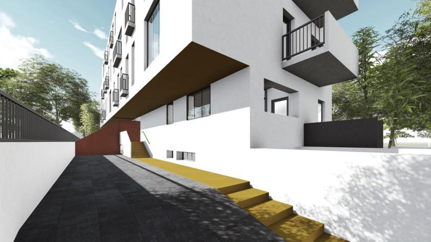 Locuinte colective D+P+2E+M - Bucuresti - str. Peris - 01.13  Bucuresti AsiCarhitectura