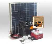 Kit solar Xunzel Off-Grid complet pentru iluminat SOLARLIFE60i
