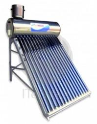 Kit solar nepresurizat compact cu boiler inox 100 litri si 10 tuburi vidate - ITechSol® ITS1800