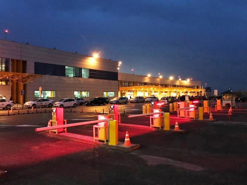 Aeroport Cluj-Napoca - sistem de parcare cu plata  Cluj-Napoca TRITECH GROUP