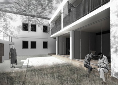 Casa de batrani - Nehoiasi Buzau 4  Buzau AsiCarhitectura