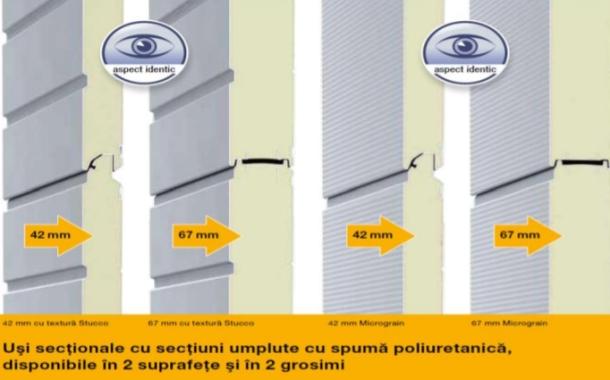 Uşa secţională industrială Hormann - calitate fără compromis