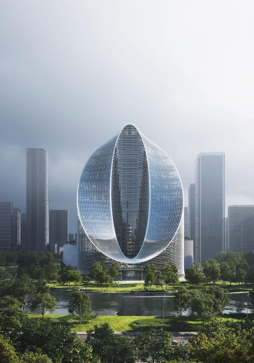 Un zgârie-nori modelat de celebrii arhitecţi BIG după simbolul infinitului