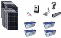 Sistem fotovoltaic off-grid Poweracu 5kwp prindere tigla
