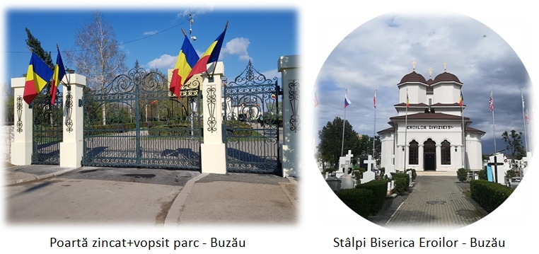 Lucrări zincate termic din România