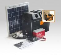 Kit solar Xunzel Off-Grid complet pentru iluminat SOLARLIFE15I