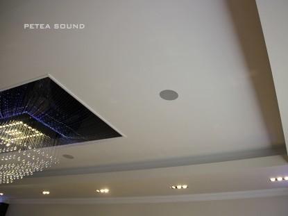 Detaliu plafon sala de evenimente  Galati PETEA Sound
