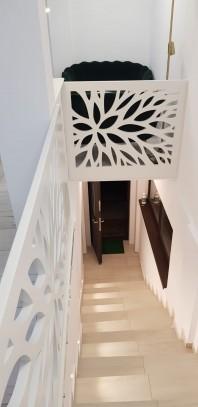 Balustrada ornamentala aplicata din material MDF- Model 15