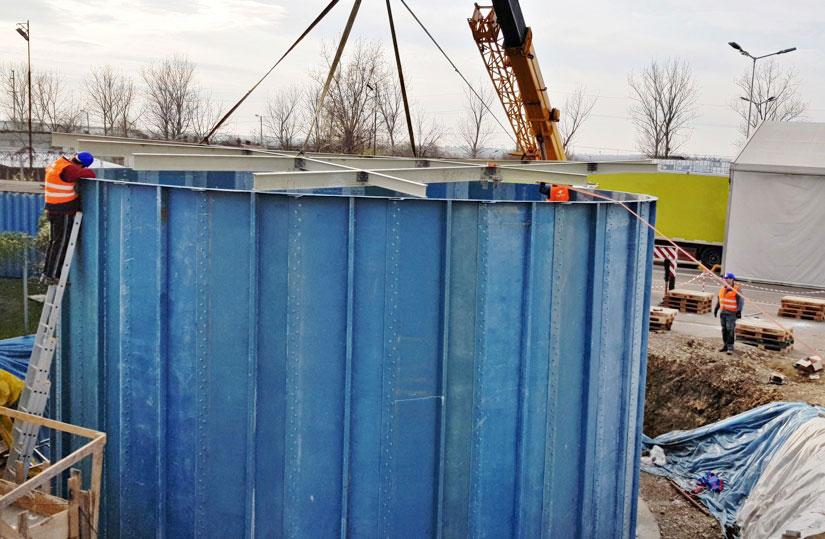 Stații de epurare ape uzate industriale 250 mc/zi