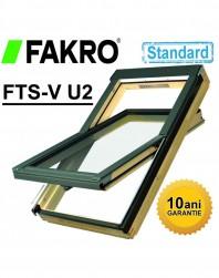 Fereastra mansarda + rama Fakro standard FTS-V U2