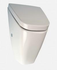 Pisoar Vila cu unitate de spalare cu senzor radar, cu capac - SANELA SLP 37RZ