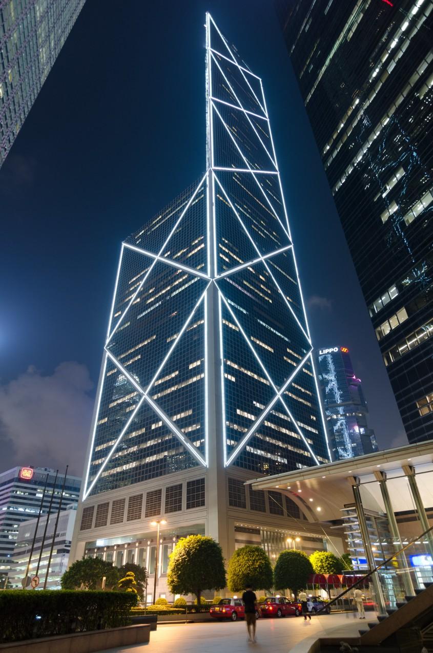 Bank of China Tower, Hong Kong, 1990