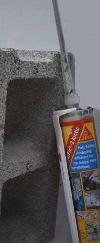Sika AnchorFix®-2+ Arctic 2 - Adeziv bicomponent pentru ancorari utilizat in conditii meteo arctice/reci