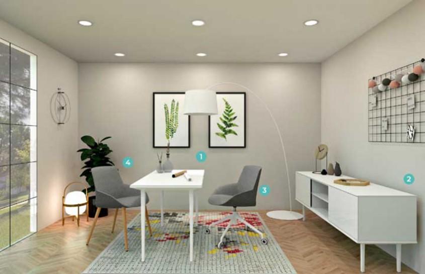 Cum să-ți amenajezi biroul de acasă pentru a avea confort și productivitate