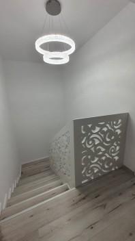 Balustrada ornamentala/aplicata din MDF - Model Serpuit
