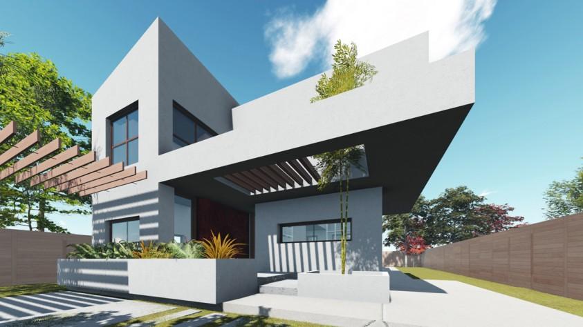Vila unifamiliala Sp+P+E - Bragadiru 18.02  Bragadiru AsiCarhitectura