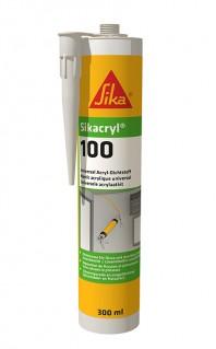 Sikacryl® 100 - Sigilant acrilic pentru umplerea fisurilor si sigilarea rosturilor