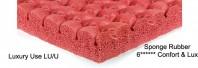 Underlay pentru mocheta - Underlay Luxury Use (LU/U) - Underlay Colours Red