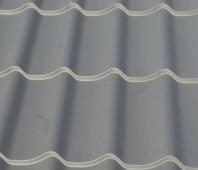 Tabla tip tigla BILKA CLASIC, grosime 0.60 mm, mat - sidefat