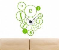"""Sticker tip ceas de perete """"Buline amestecate"""""""